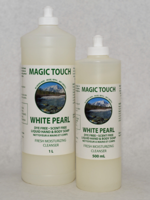 Magic Touch White Pearl Hand & Body Soap