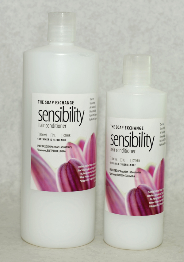 Sensibility Hair Conditioner - dye free, unscented hair conditioner