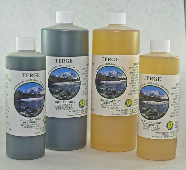 Terge unscented liquid laundry soap
