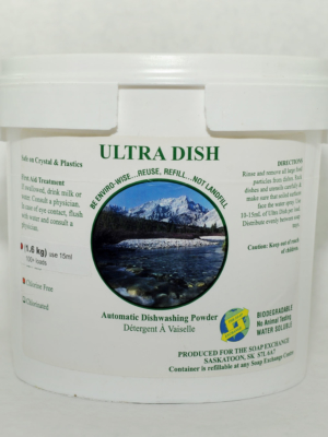 Ultra Dish Automatic Dishwasher Soap - Victoria Soap Exchange