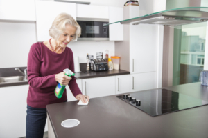 cleaning countertops post covid